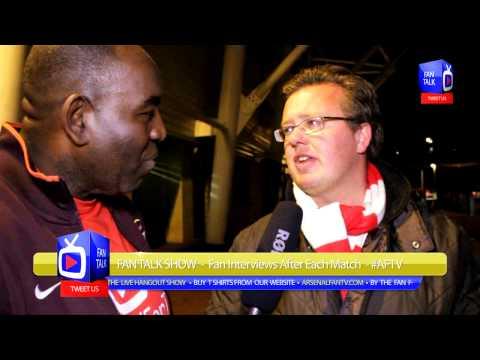 Arsenal FC 2 Swansea City 1 - Get Your Gooner Mag Interview - ArsenalFanTV.com