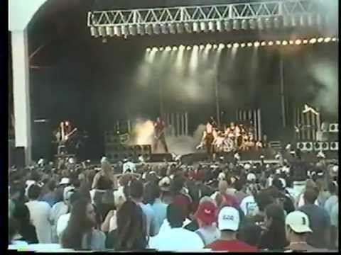 Rammstein - Gilford, Meadowbrook Farm, U.S.A, 14/07/2001 [part 1]