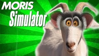 MORIS SIMULATOR - Goat Simulator z Julianem [#1]^^ - FULL HD