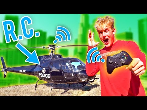 I MADE THIS HELICOPTER REMOTE CONTROLLED!!! (INSANE)