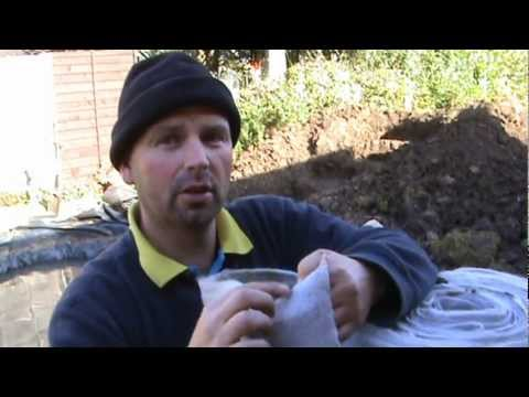 How to Build a Fish Pond Part 2 - Installing the Cascade