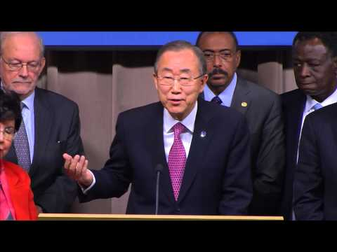 Ebola Reponse: Ban Ki-moon, Jim Yong Kim & Margaret Chan - Press Conference (21 Nov 2014)