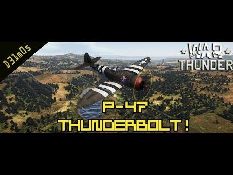 P-47 Thunderbolt em Ação! War Thunder Historical!