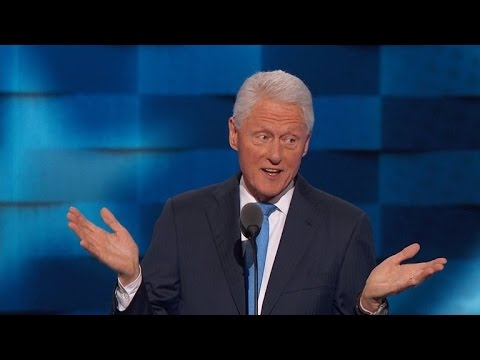 Why Some Are Criticizing Bill Clinton's DNC Speech About Hillary
