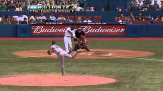 Daniel Bard muscles out a 100 mph fastball @MLB