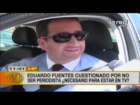 Eduardo Fuentes es cuestionado por no ser periodista