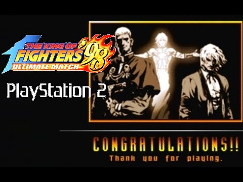 The King of Fighters '98 Ultimate Match playthrough (Playstation 2)