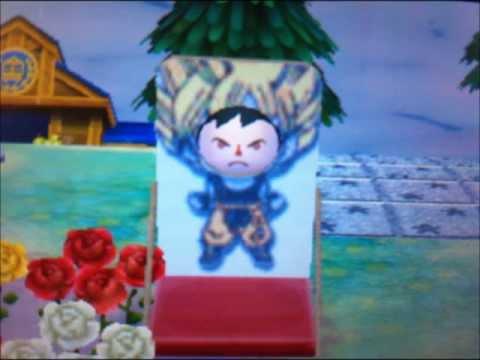 とびだせどうぶつの森 ドラゴンボール スーパーサイヤ人 顔出し看板 QRコード