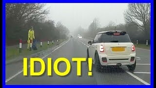 Brake check a learner driver? Bad idea!