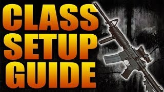Call of Duty: Ghosts - Best Multiplayer Classes! (COD Class Setup Guide Guns Weapons Tips Tricks)