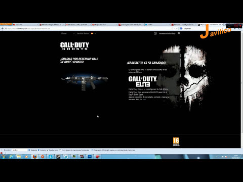 Tutorial - Como canjear el camuflaje Ghosts en Black Ops 2 - Call of Duty: Ghosts