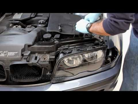 BMW 3 Series (E46) 1999-2005 - Headlight Assembly & Lens DIY. how to replace