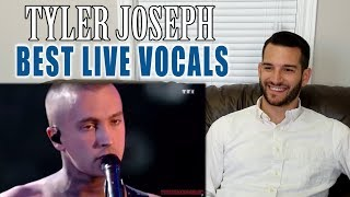 SINGING TEACHER reacts to TYLER JOSEPH'S best LIVE VOCALS