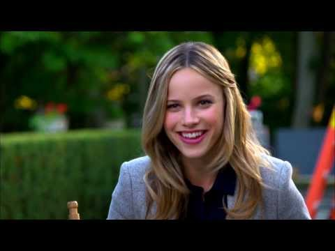 "Crisis: Halston Sage ""Amber Fitch "" On Set TV Interview"