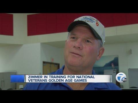 Golden Age Games help Vietnam veteran from Port Huron recover