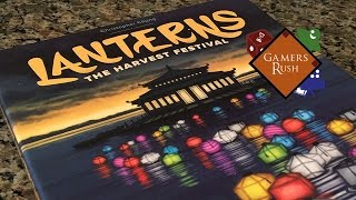 Unboxing - Lanterns The Harvest Festival