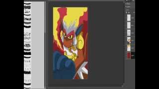 Speedpaint 6. - Infernape