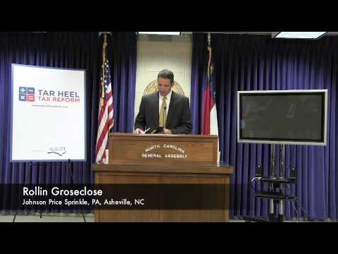 Tar Heel Tax Reform Launch - Press Conference