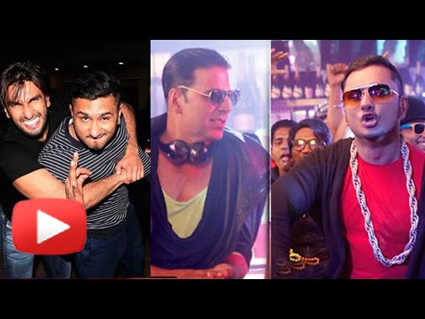 Akshay Kumar & Ranveer Singh |yo Yo Honey Singh's Favourite Desi Kalakaar video