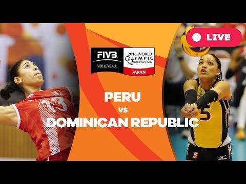 Peru v Dominican Republic - 2016 Women's World Olympic Qualification Tournament