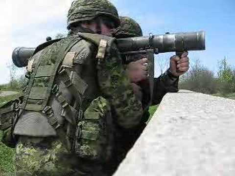 Firing 84mm Sraaw Carl Gustav Youtube