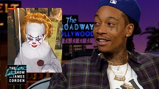 Wiz Khalifa's 6-Year-Old Son Nailed Pennywise