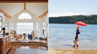 Exclusive Look! Go Inside Kim Cattrall's Vancouver Island Home