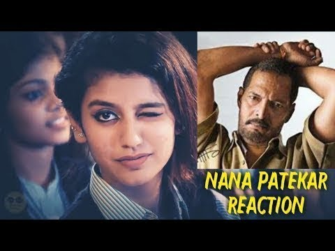 Priya Prakash Warrier funny video | NANA PATEKAR REACTION | VIDYA BALAN | MR BEAN