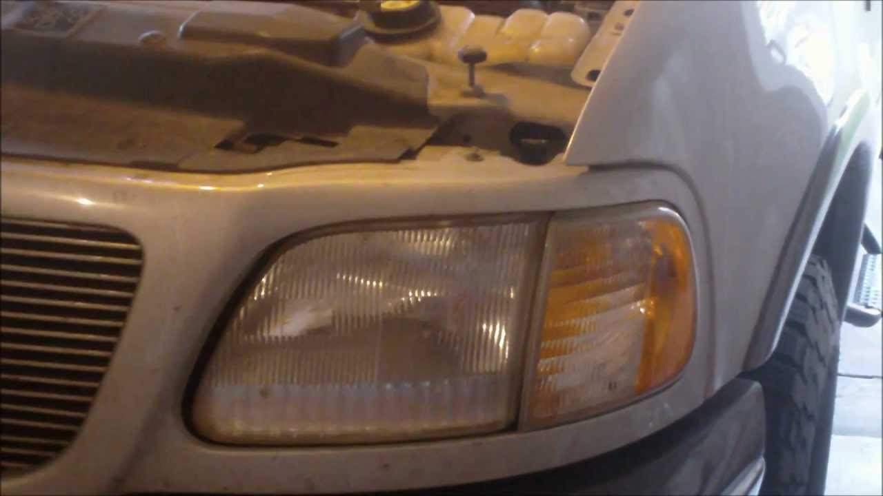 Watch on headlight adjustment diagram