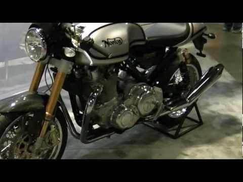 2012 Norton Commando 961 Cafe Racer Motorcycle