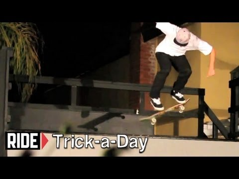 How-To Nollie Bigspin B/S Disaster with Tyler Hendley - Trick-a-Day