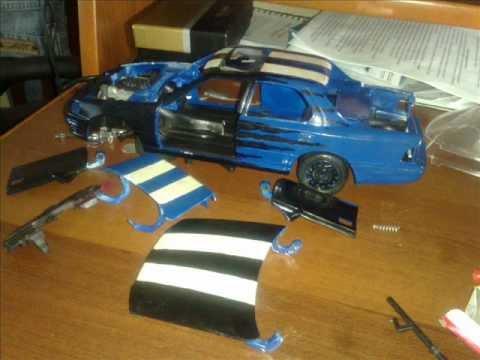 Как сделать игрушечную машинку тюнинг