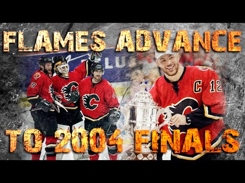 Calgary Flames advance to the 2004 Finals, SJ Game 6