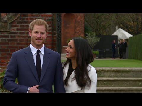 Harry, Markle meet press following engagement