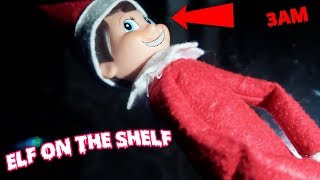 ELF ON THE SHELF ONE MAN HIDE & SEEK CHALLENGE AT 3AM | ELF ON THE SHELF IS ALIVE (CAUGHT ON CAMERA)