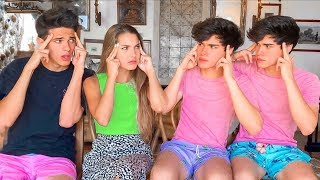 Sibling vs Sibling Challenge ft. Brent Rivera & Lexi Rivera