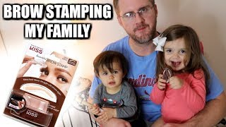 BROW STAMPING MY FAMILY