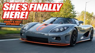 Randy Takes Delivery Of His FIRST HYPERCAR! The Koenigsegg CCX *800HP TWIN SUPERCHARGED V8*