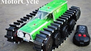 How to make a Motorcycle - Remote Control Motorcycle