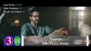 Top 10 Hindi Songs Of The Week - 29 April, 2017   Bollywood