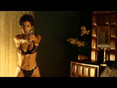 Halle Berry - big boobs - in black bra and panties - thumbnail