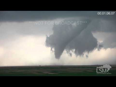 4-15-16 Eads, Colorado Touchdown to Rope Tornado