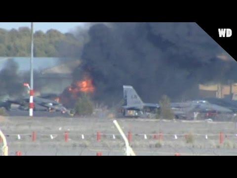 Greek Fighter Jet Crash