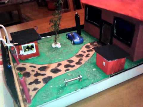 Circuito electrico maqueta youtube - Como hacer una maqueta de una casa ...