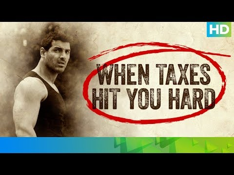 When Taxes Hit You Hard Ft. John Abraham (Bollywood Actor)