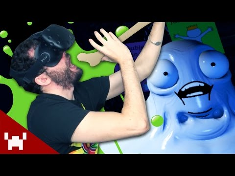 WEIRDEST VR GAME! (Accounting - HTC Vive Virtual Reality)