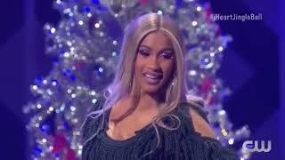 Cardi B full performance live from Jingle ball 2018