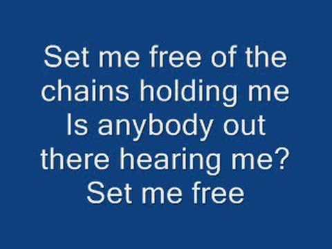 Set Me Free By Casting Crowns With Lyrics video