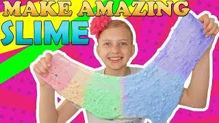 Making HUGE Slime & Cutting Sand - Satisfying Rainbow Colors