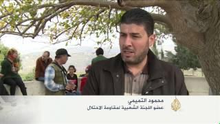 مواجهات بين قوات الاحتلال ومتظاهرين فلسطينيين